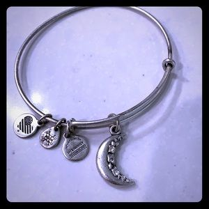 Alex and Ani moon bracelet